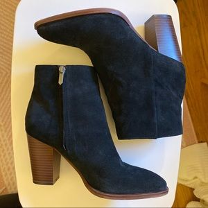 Sam Edelman black ankle booties